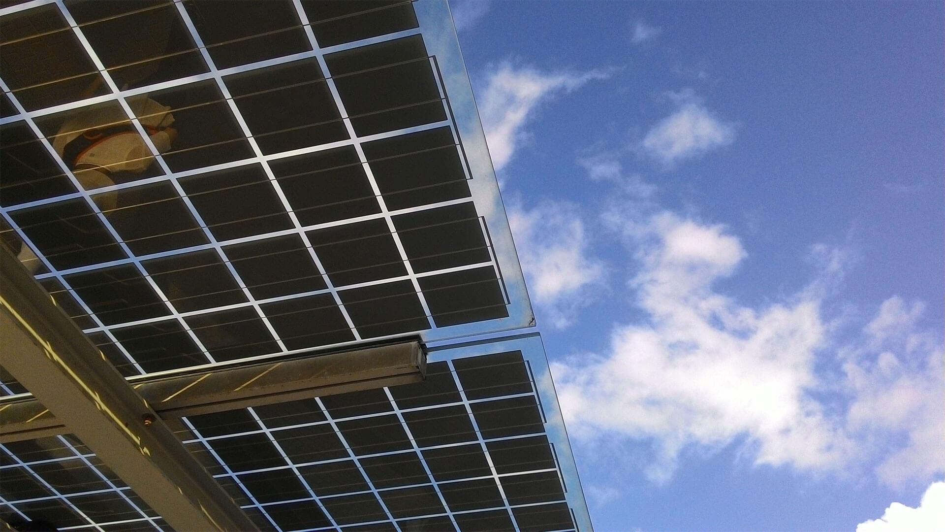 Solar panels for case study